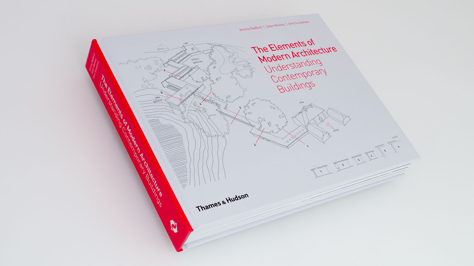 Adam Hay Studio | Illustrated Book | The Elements of Modern Architecture